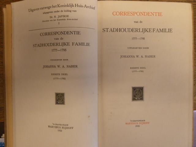 Correspondentie van een stadhouderlijke familie 002