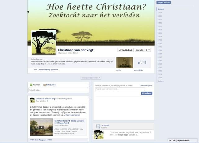 Christiaan op facebook 01