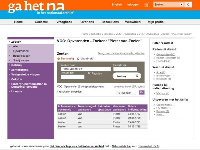 Pieter van Zoelen gahetna 01