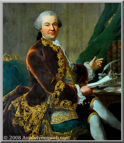 Bertrand Philip Sigismund Albrecht graaf van Gronsveld-van Diepenbroick-Impel door Guillaume de Spinny