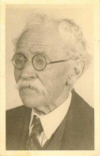 Zijn achterkleinzoon - Mijn overgrootvader