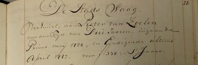 1784 Waagmeester 001