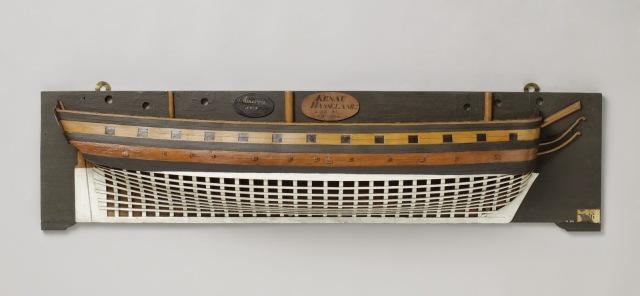 Model wachtschip Minerva