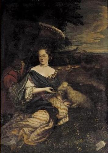 Antoinette Amalia van Brunswijk Wolffenbüttel en haar page
