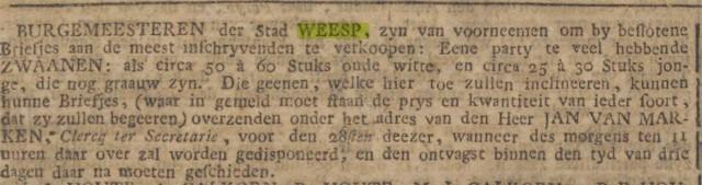 1785 12 26 Zwanen verkoop door stadsbestuur 02