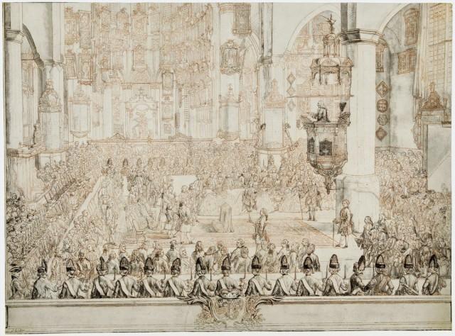 Huwelijk van Karel Christiaan van Nassau-Weilburg met prinses Carolina, 1760, Tethart Philip Christian Haag, 1760 - 1761