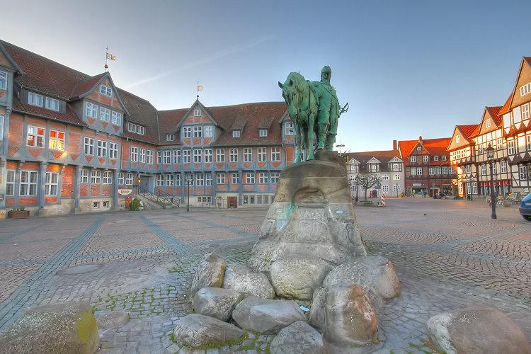 Der Stadtmarkt in Wolfenbüttel