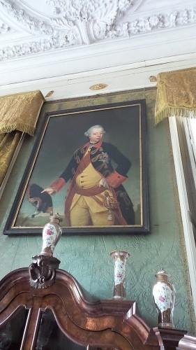 Willem V in Kasteel Amerongen