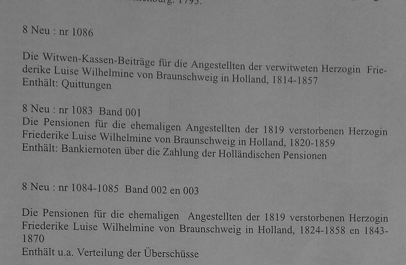 Archief Wolfenbüttel Louise 01