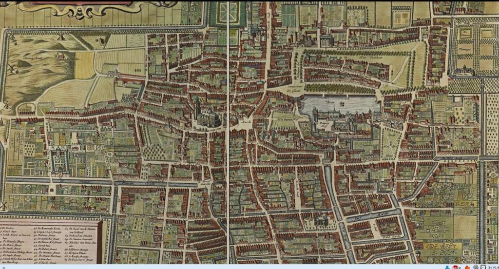 Den Haag 1750 Atlas de Wit