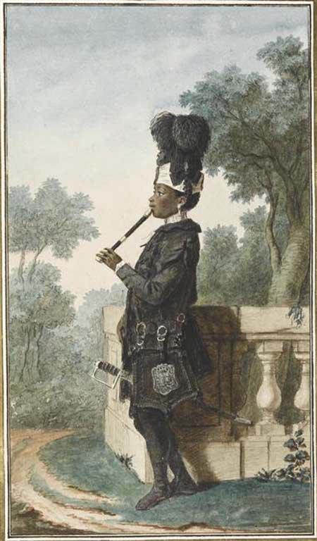 Narcisse, bediende van du duc D'Orléans c 1770 - Reinette