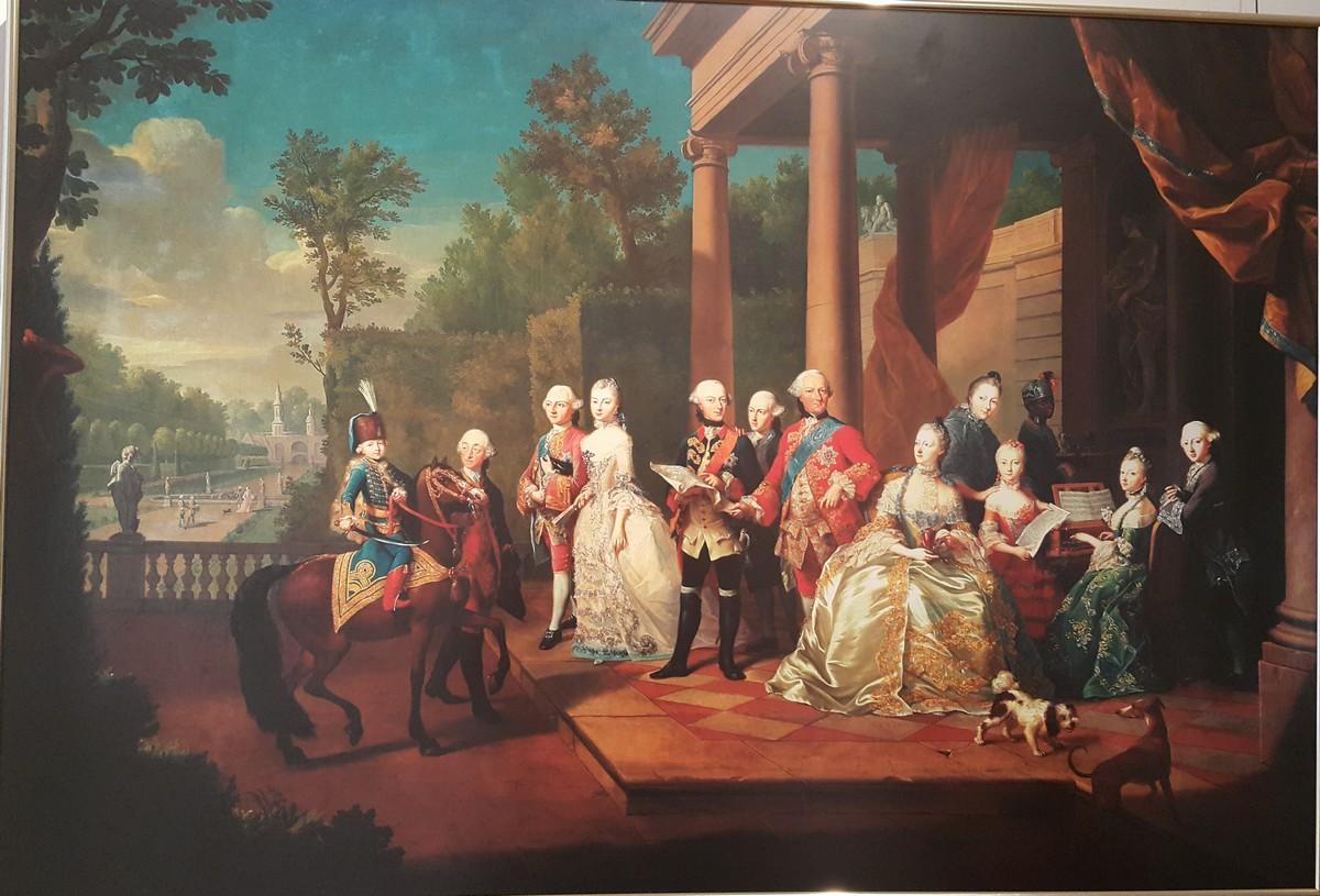 Schilderij in het Schloss familie Brunswijk 01