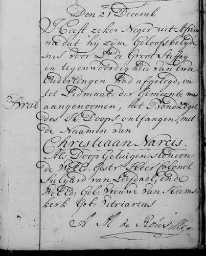 1783 Doop Christiaan Narcis