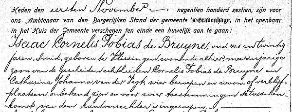 1916 huwelijk Isaac Cornelis jr 01