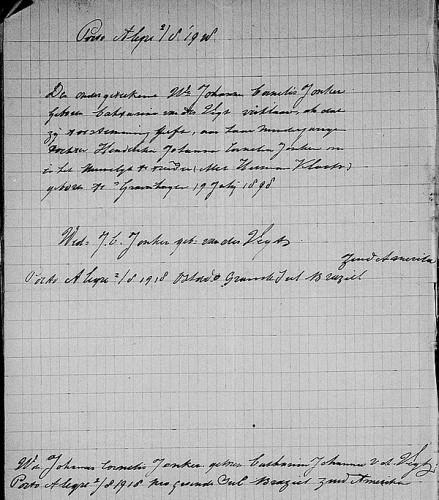 1918 briefje van