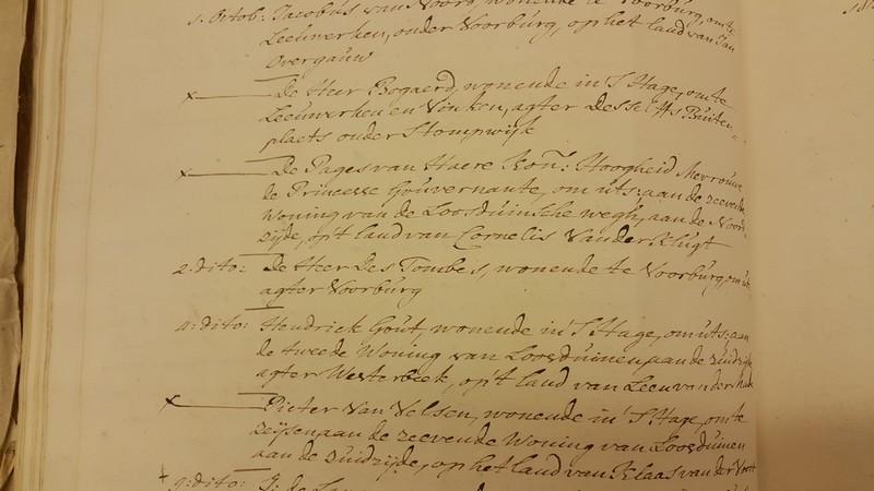 1759 verzoek vinkenjacht