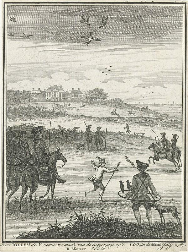1767 07 Reigerjacht op 't Loo
